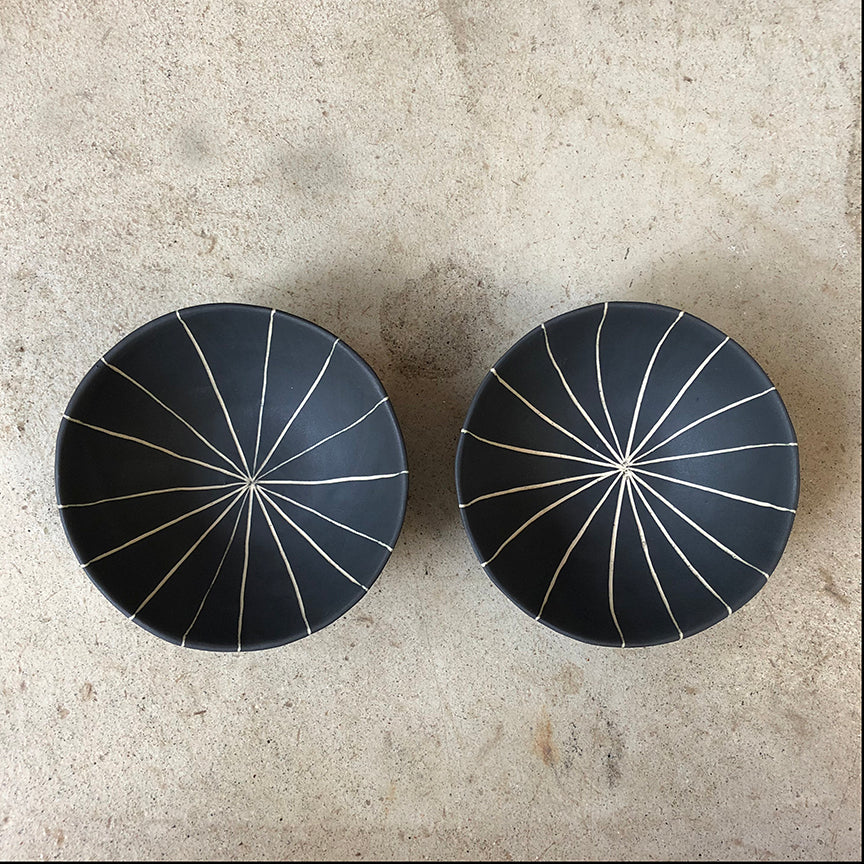 Two La Brea mini bowls #44 & #45
