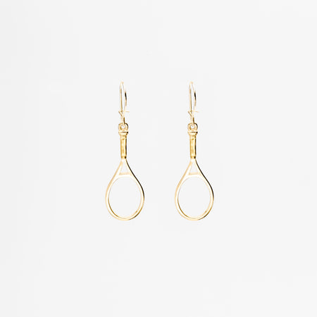 14K Gold Ball & Pearl Hoop Earrings
