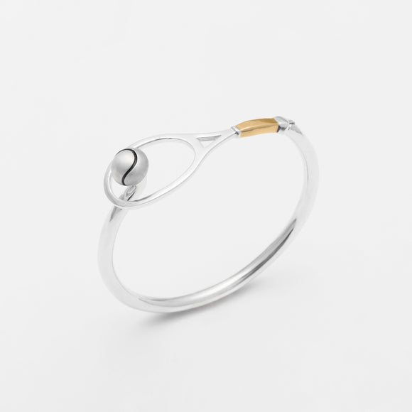 Racquet & Ball Hook Bracelet
