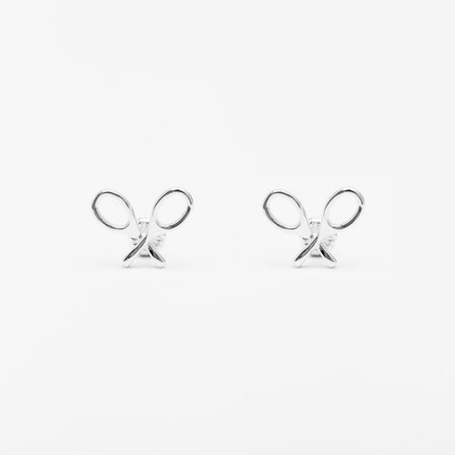 Racquet Icon Stud Earrings