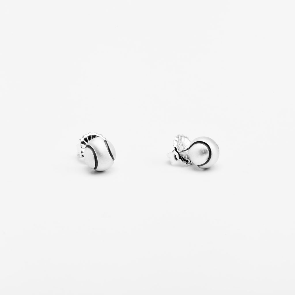 pin blue jewellery earrings sterling silver knot love in nile platinum interlaced