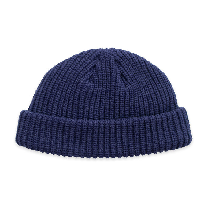 Blue Fisherman Micro Beanie