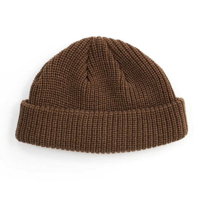 Brown Fisherman Beanie