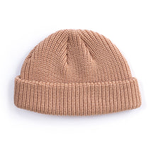 Load image into Gallery viewer, Camel Fisherman Micro Beanie