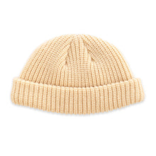 Load image into Gallery viewer, Cream Micro Beanie
