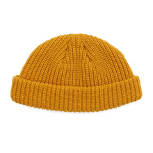 Load image into Gallery viewer, Gold Fisherman Micro Beanie