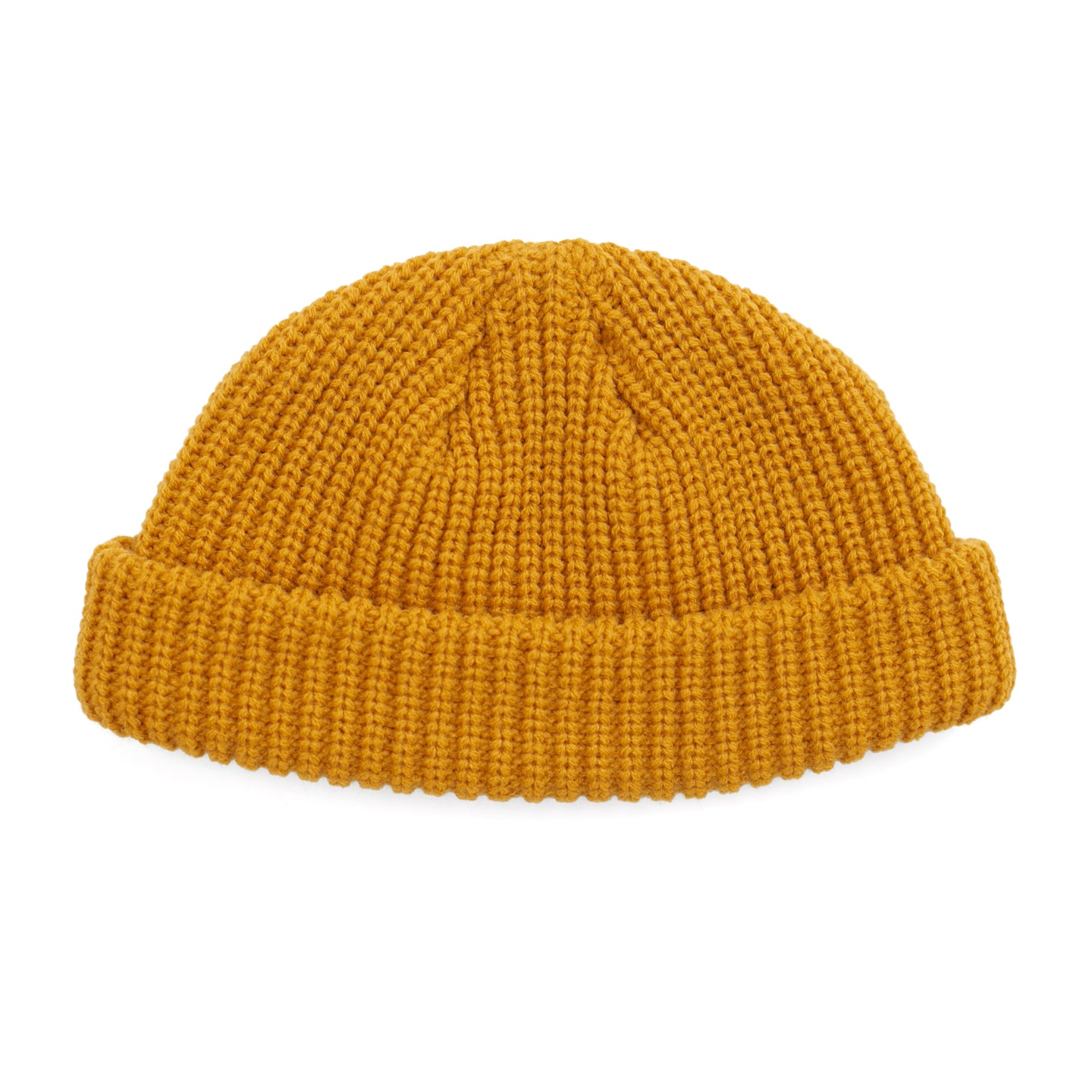 Gold Fisherman Micro Beanie