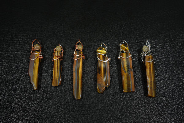 Tiger's Eye Pendants #A