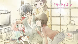 Anime Review: 3-Gatsu No Lion (March comes in like a lion)