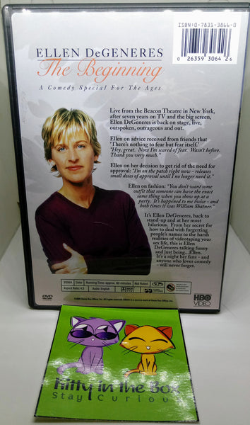DVD - Ellen Degeneres: The Beginning