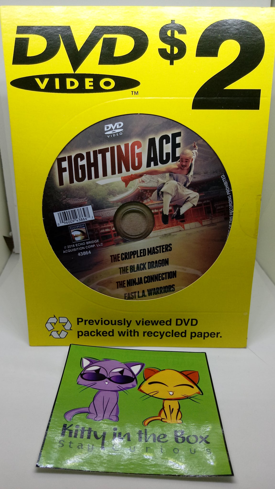 DVD: Fighting Ace - Vintage Martial Arts Movies