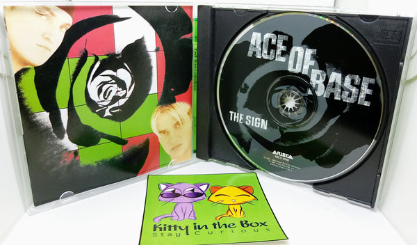 Music CD - The Sign - Ace of Base