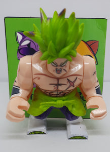Dragon Ball Super - Super Saiyan Broly - Big Figure Compatible with Lego