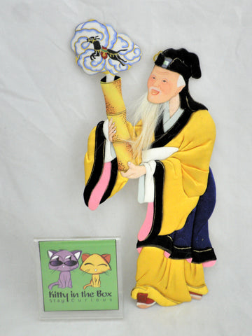 Chinese Magician Wall Hanging Decor