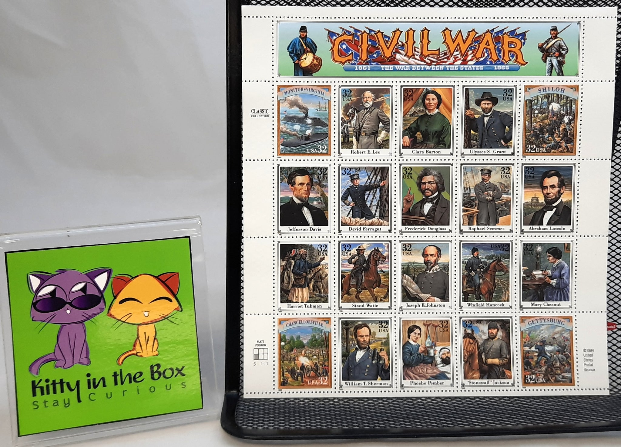 Stamp - Civil War Stamp Sheet