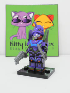 Neon Genesis Evangelion - Purple EVA Unit figure - compatible with Lego
