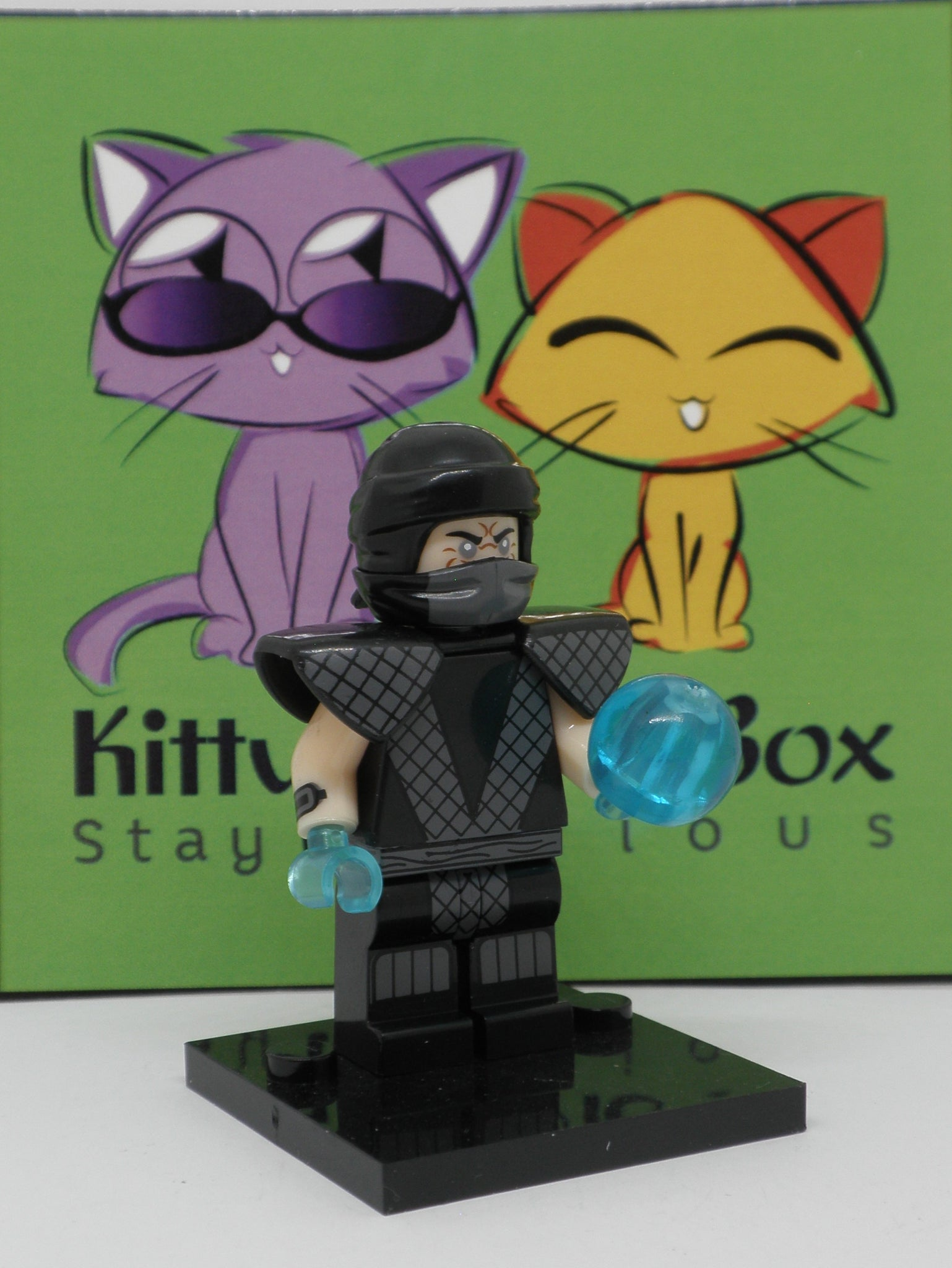 Mortal Kombat - Smoke - Figure Compatible with Lego