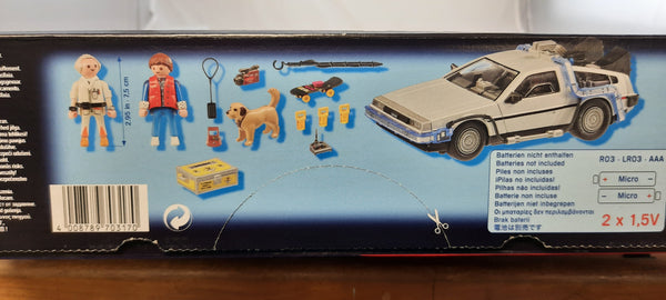 Playmobil Back to the Future DeLorean Playset