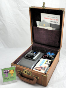 Vintage Polaroid J66 Camera with Case and Accessories