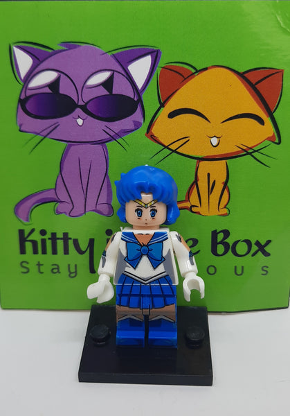 Sailor Moon - Sailor Mercury - Figure Compatible with Lego