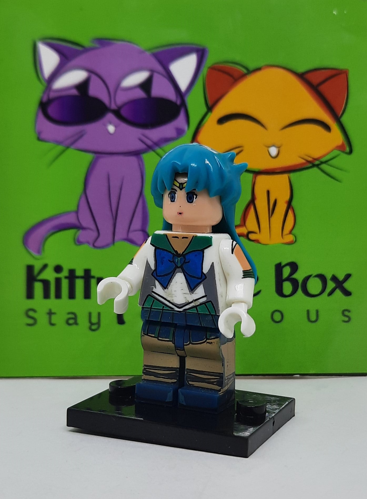 Sailor Moon - Sailor Neptune - Figure Compatible with Lego