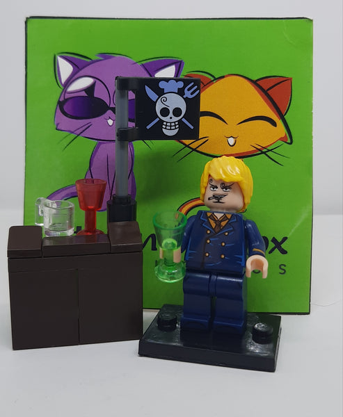 One Piece - Sanji - Figure Compatible with Lego