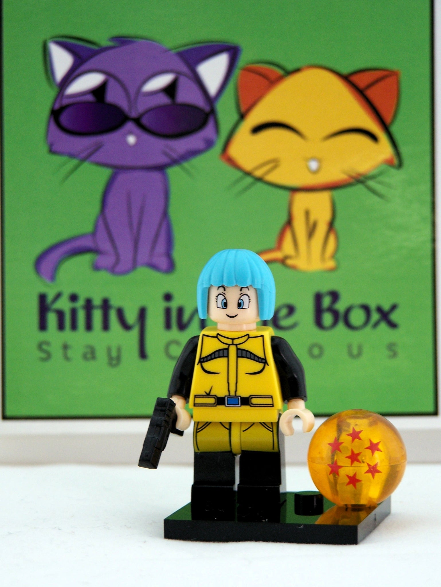 Dragon Ball Z - Bulma in Planet Namek figure - compatible with Lego