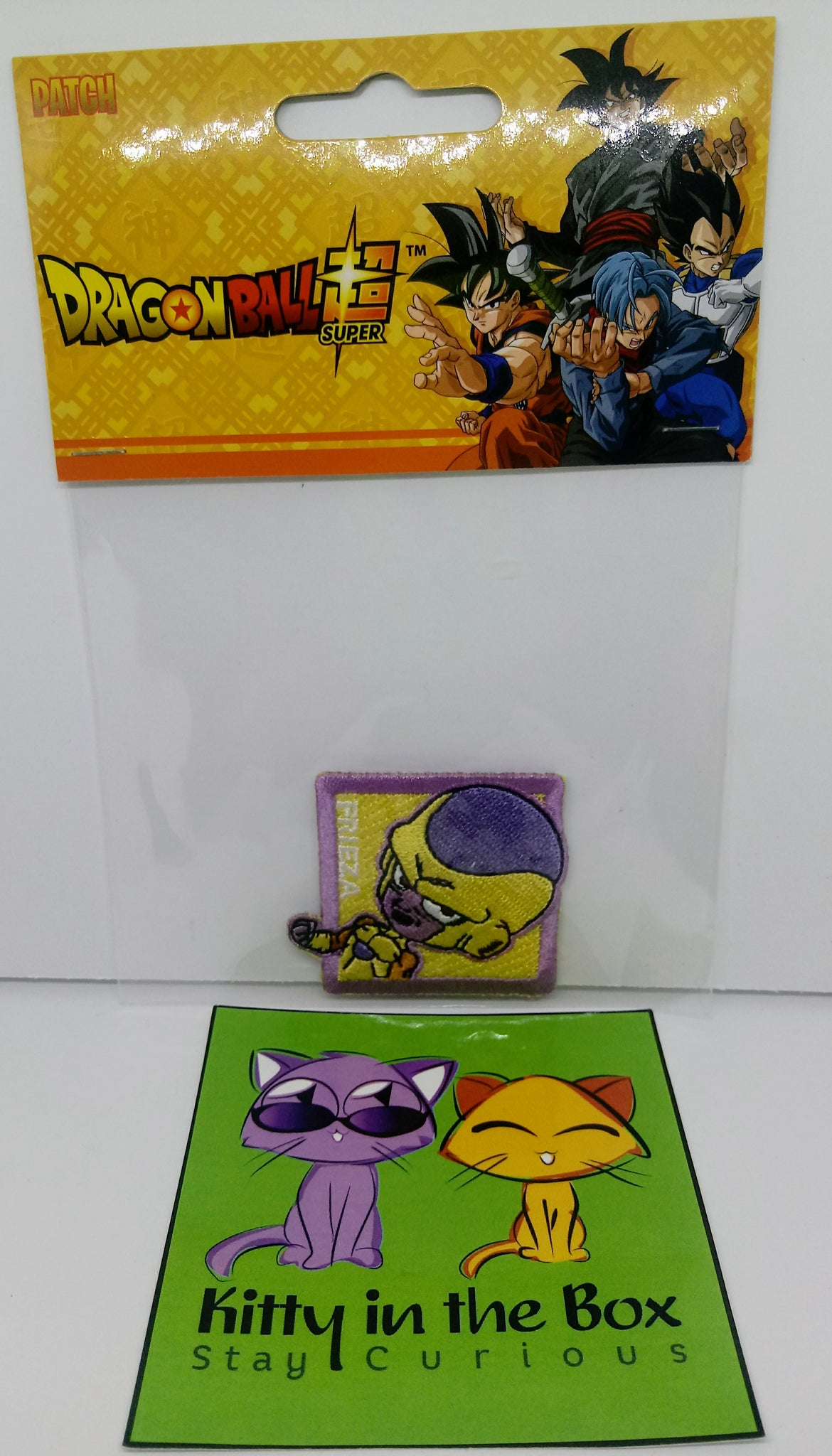 Dragon Ball Super - Golden Freeza  - Iron-on Patch