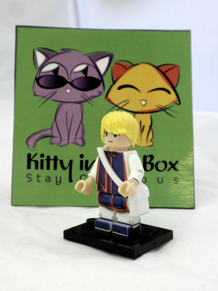 Hunter x Hunter - Kurapika - Figure Compatible with Lego