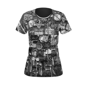 NEW: I.T. Hammar Butterflies all-over 100% cotton t-shirt