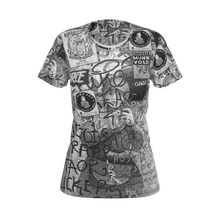 Load image into Gallery viewer, I.T. Hammar Self Portrait in the Loo all-over print 100% cotton t-shirt