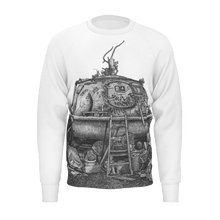 Load image into Gallery viewer, I.T. Hammar Hideaway all-over print cotton sweatshirt