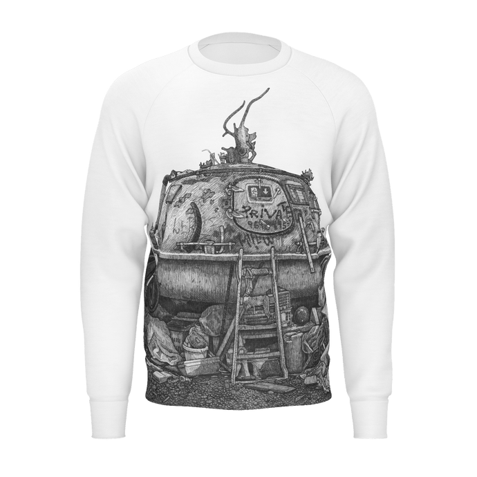 I.T. Hammar Hideaway all-over print cotton sweatshirt