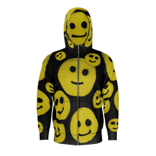 Load image into Gallery viewer, R. Wolff Smiley SØ19 cotton zipped hoodie