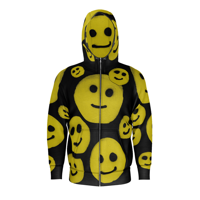 LIMITED EDITION: R. Wolff Smiley SØ19 cotton hoodie