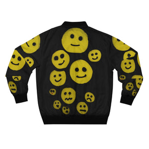 R. Wolff SØ Smileys all-over unisex bomber jacket