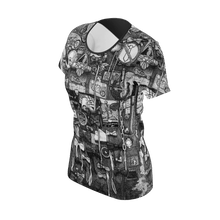 Load image into Gallery viewer, NEW: I.T. Hammar Butterflies all-over 100% cotton t-shirt