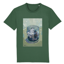 Load image into Gallery viewer, I.T. Hammar Dice unisex 100% organic cotton t-shirt