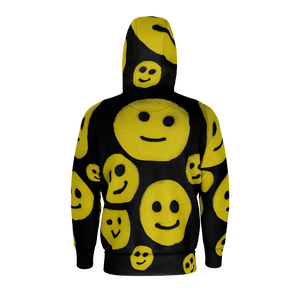 R. Wolff Smiley SØ19 cotton zipped hoodie