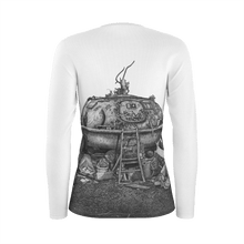 Load image into Gallery viewer, I.T. Hammar Hideaway all-over print cotton slimfit  longsleeve