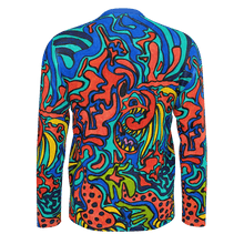 Load image into Gallery viewer, Jane Indigo Mad Tiger all-over longsleeve