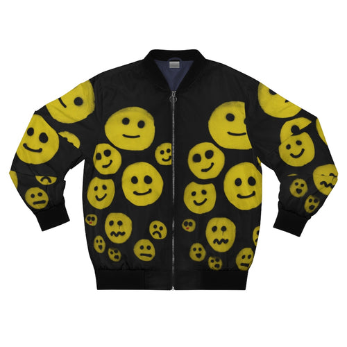 NEW: R. Wolff SØ Smileys all-over unisex bomber jacket