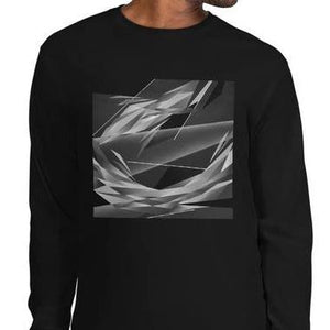 #ArtIt- urban artwear making streetwear out of contemporary art: Adrian Platkovsky cotton longsleeve delivered print on demand