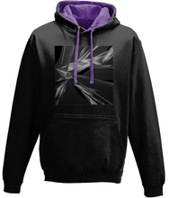 Load image into Gallery viewer, #ArtIt- urban artwear making streetwear out of contemporary art: A. Platkovsky black hoodie delivered print on demand