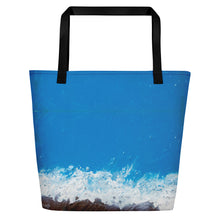 Load image into Gallery viewer, NEW: Jane Indigo 09 all-over beach/shopping bag