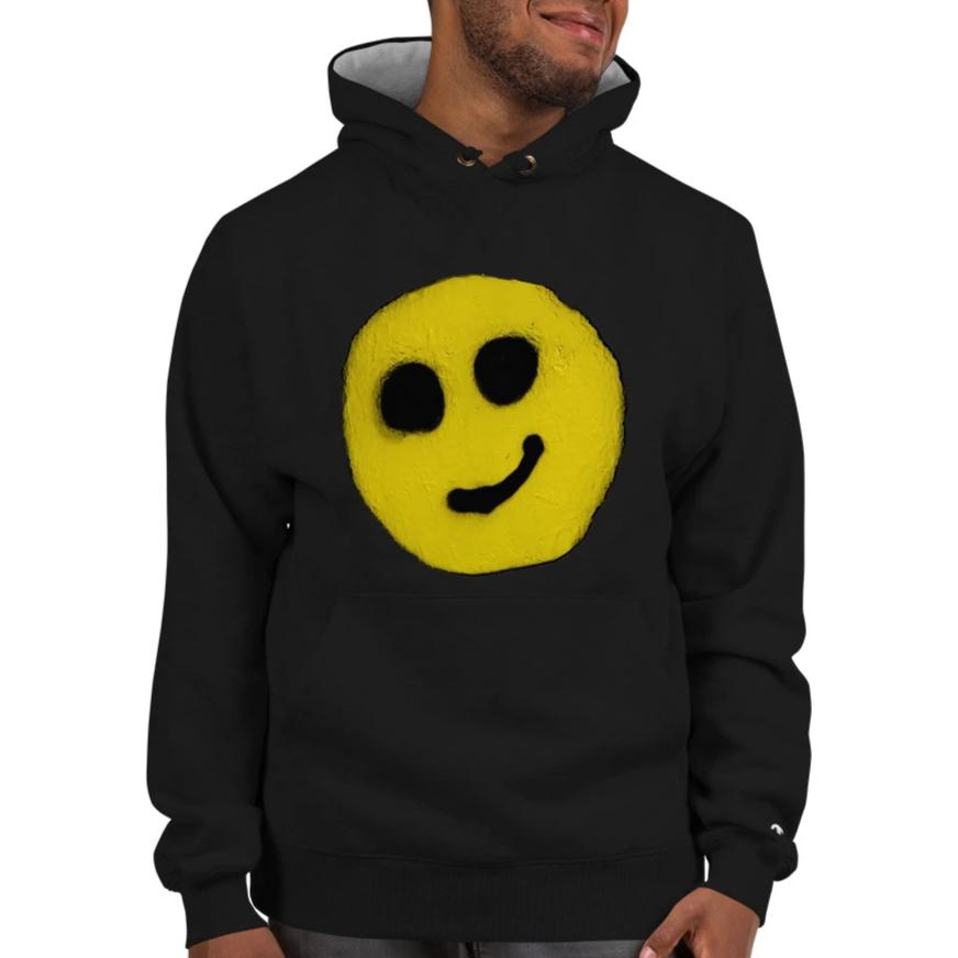 R. Wolff Smiley SØ19 Champion cotton hoodie