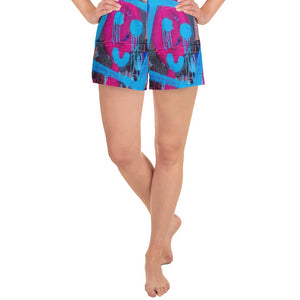 #ArtIt- urban artwear making streetwear out of contemporary art: Luanne May all over print shorts delivered on demand