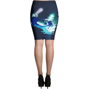 Skirt with art by jp.carp delivered print on demand from #ArtIt - urban artwear