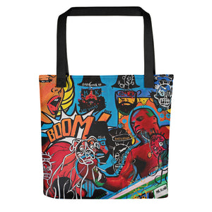 Mr. Kling The Boxer all-over tote bag
