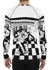 P. Wang Tekno 3 sporty all-over longsleeve